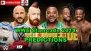 WWE Starrcade 2018 SmackDown Tag Team Championship Cesaro and Sheamus The Bar vs The New Day Predi