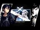 [Sword Art Online AMV] - Black and Blue