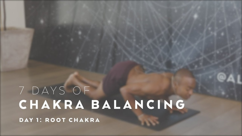 Root Chakra Yoga Flow with Andrew Sealy - 7 Days of Chakra Balancing