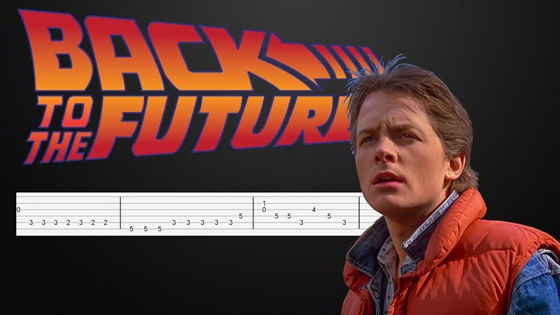 Back to the Future - Easy Guitar Tabs Tutorial