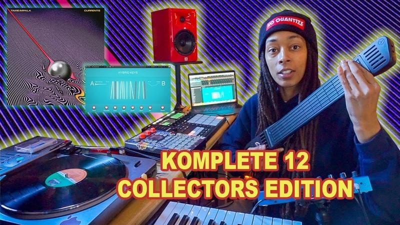 Made TAME IMPALA chords with Hybrid Keys || Komplete 12 DEMO || Instrument 1