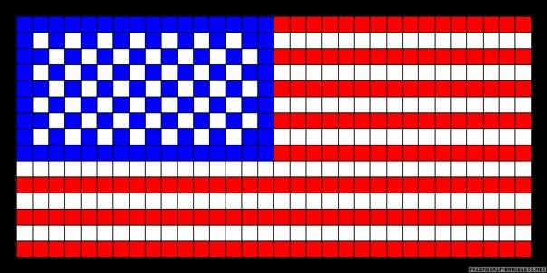 """Схемы """"Американского флага"""""""