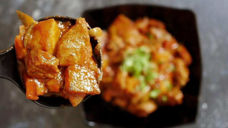 Рецепт азу по-татарски с солеными огурчиками   Классика