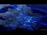 Движение самолетов в Европе основанное на реальных данных