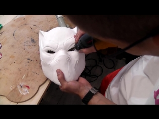 How to make a Black Panther mask 2018