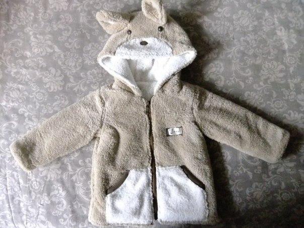 Шьем меховую двустороннюю курточку для малышей…. (8 фото) - картинка