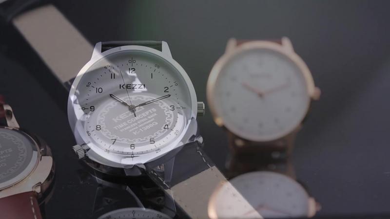 KEZZI Марка Часы для Для женщин Для мужчин пара кварцевые часы женские Водонепроницаемый Lover Наручные часы 2017 Роскошные мини