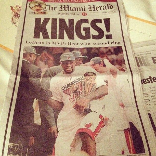 Хит лучшая команда НБА 2012