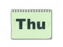IE2_U1_week days_ввод
