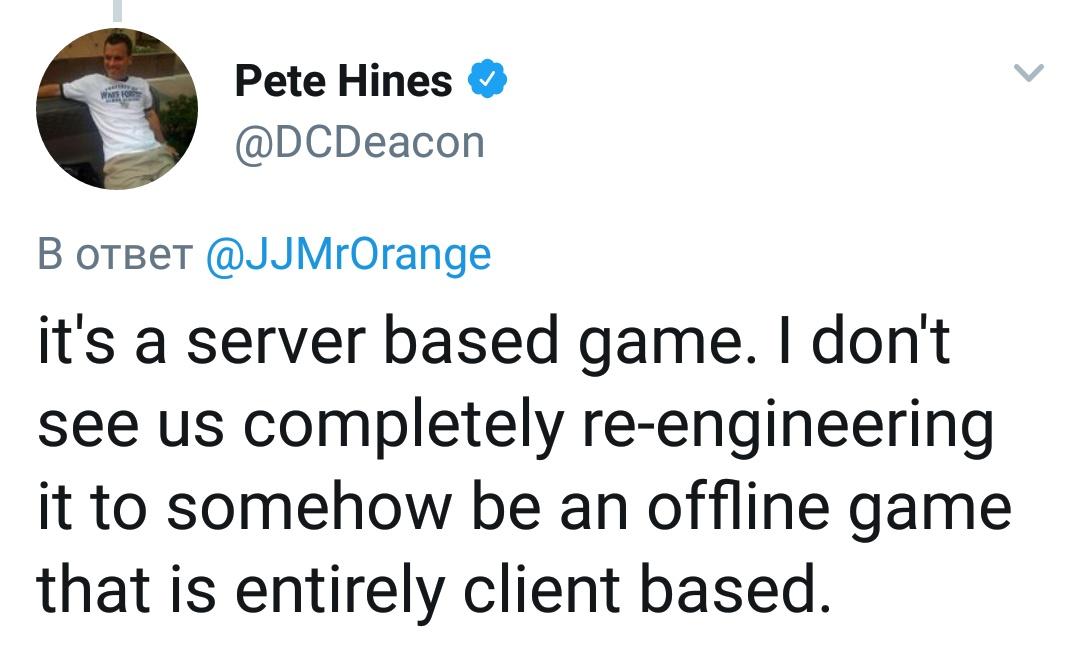 Fallout 76 никогда не станет оффлайн-приключением