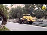 Приколы с строительной техникой и рабочими лучшее за 2013 год