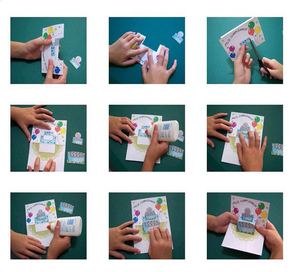 Объемные открытки своими руками папе
