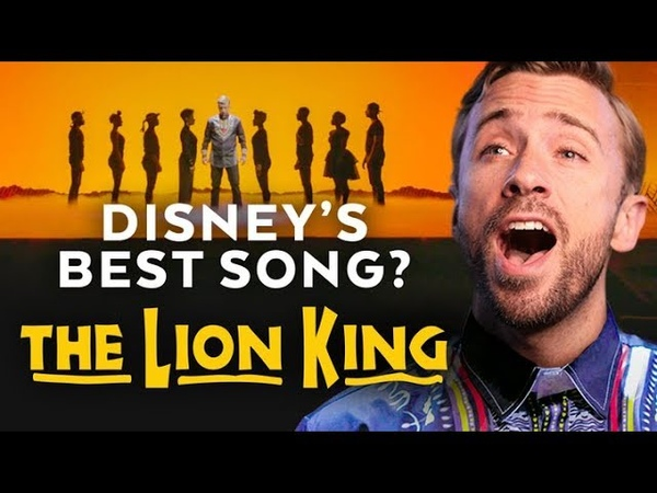 The Best Disney Song You Didn't Know Existed feat The Lion King Cast A Cappella Style