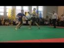 2 бій (вихід у фінал) Чемпіонат України з хортингу в розділі двобій у віковій категорії 18 вага 70-75кг