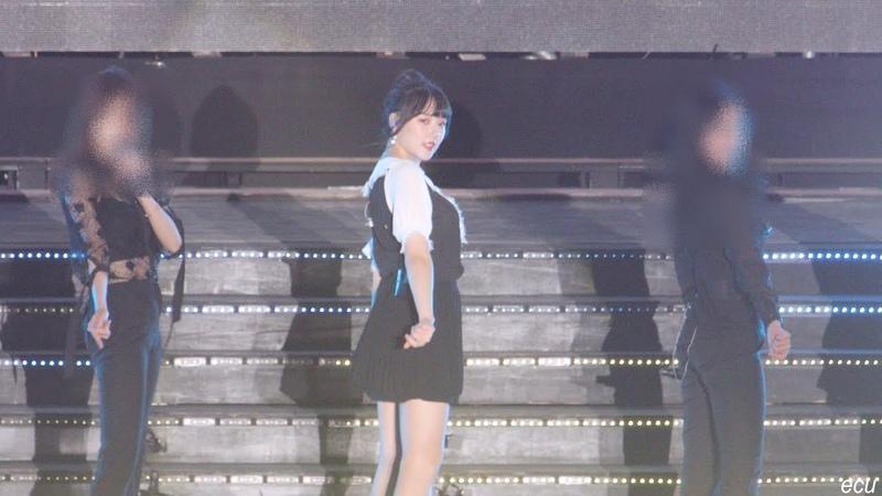 [4K] 181027 여자친구 (GFRIEND) 예린 (Yerin) Love Bug (러브벅) 포항 케이팝 직캠 fancam by ecu
