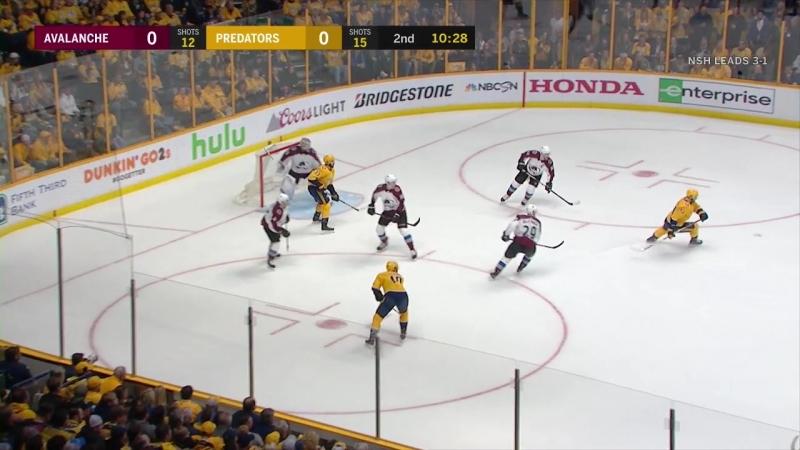 Colorado Avalanche vs Nashville Predators 20 04 2018 Round 1 Game 5 NHL Stanley Cup Playoffs 2018