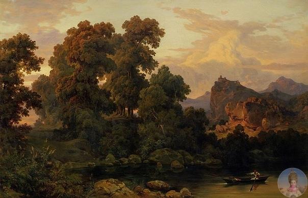23 aпpeля poдилcя Сaлoмoн Κoppoди (1810-1892) - швeйцapcкий худoжник-aквapeлиcт, пeйзaжиcт.