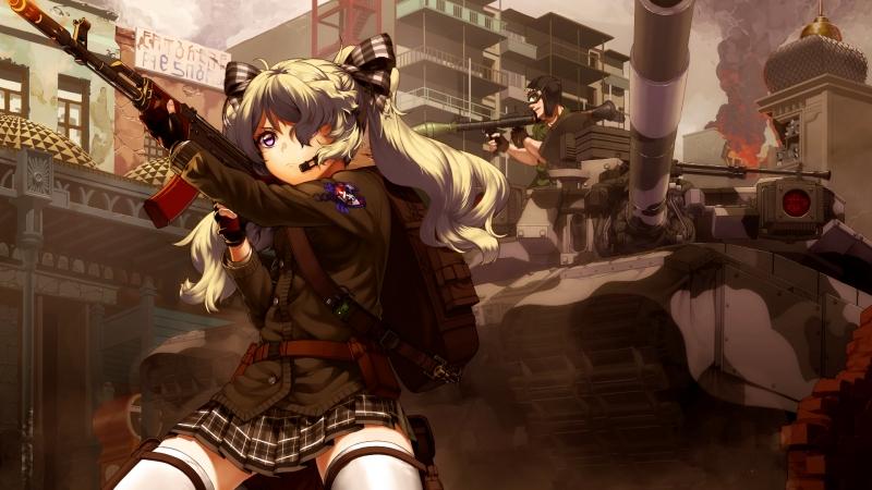 AMV WAR ( Озвучка MiraY)