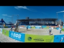 Beach volley Russia Kazan 2018 M 10 Khudyakov-Bykanov and Bogatov-Rakusov