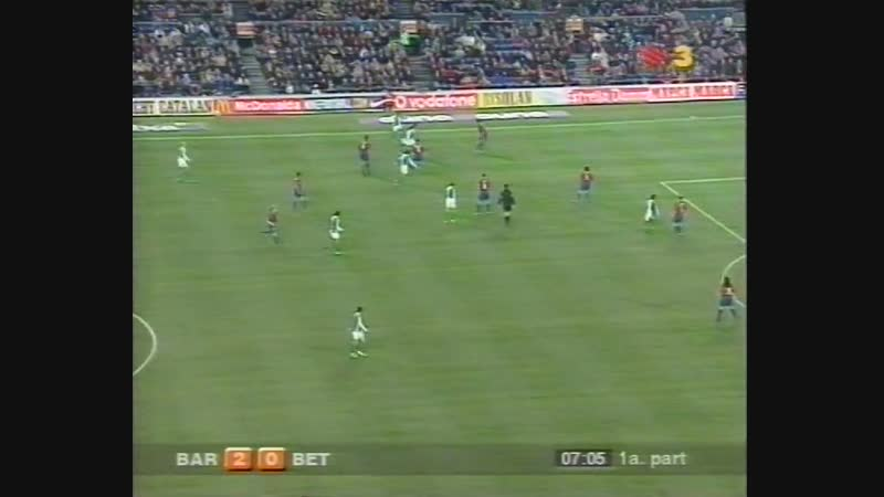FC Barcelona vs Real Betis 2002-2003 2 parte