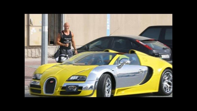Таксист на Bugatti