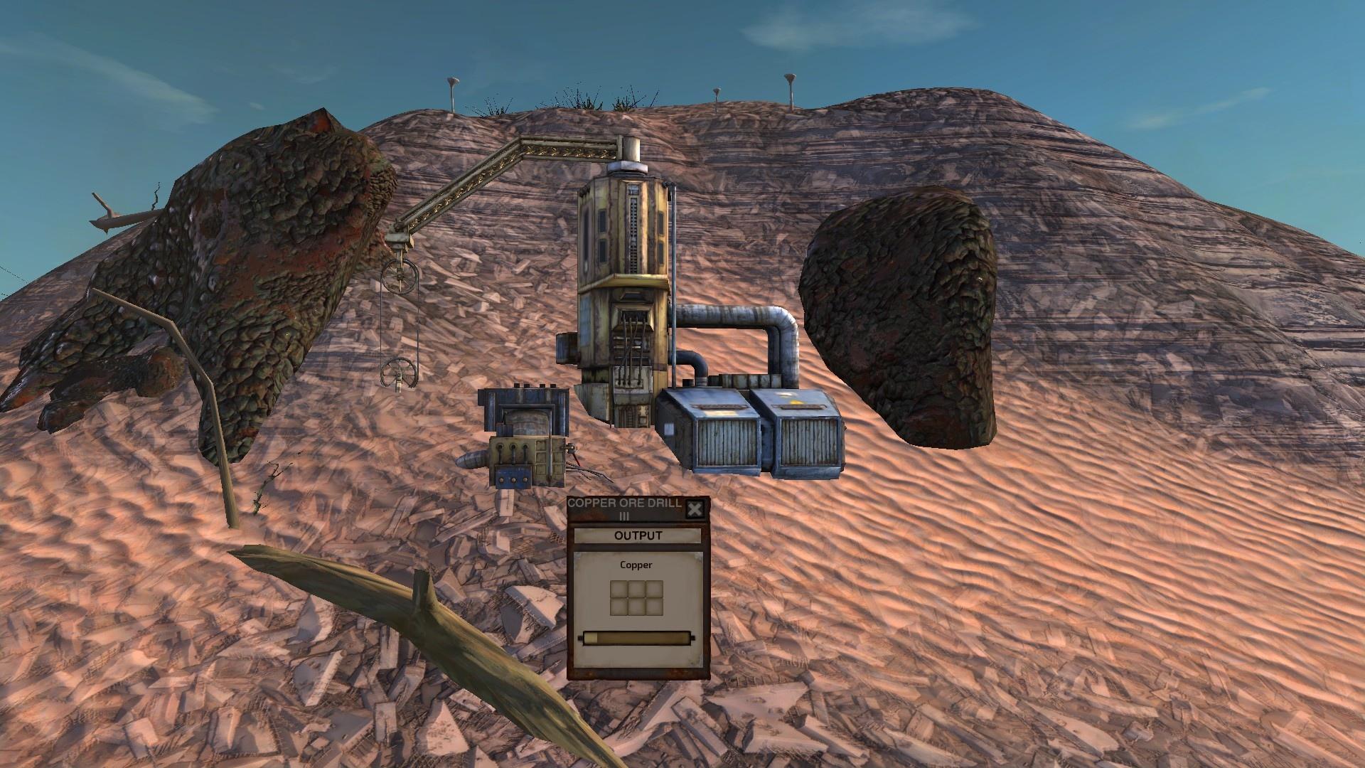 Copper Ore Drills / Бур для медной руды