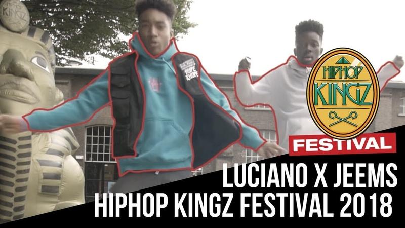 Luciano X Jeems | Hiphop | Hiphop Kingz Festival 2018