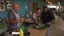 Alon Bat Karé ek Isabelle à Bagatelle à l'atelier cuisine de Jacky guêpes frites
