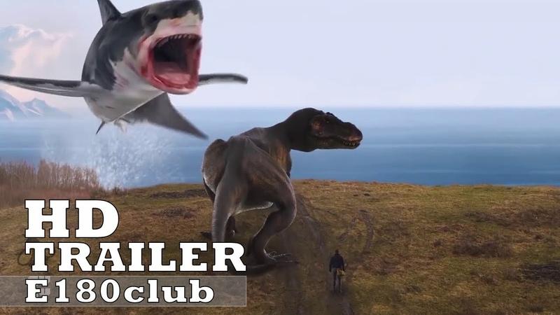 Последний акулий торнадо: Как раз во время (2018) - русский трейлер.