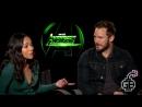 «Мстители: Война Бесконечности»: интервью Зои Салдана и Криса Прэтта для «Maude Garrett's Geek Bomb»
