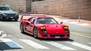 Terrorizing the Streets of Monaco in a Straight Piped Ferrari F40