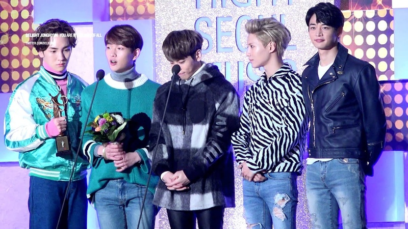 160114 Seoul music awards SHINee