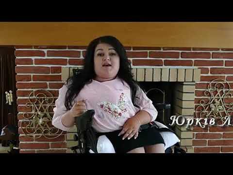 Дівчинка на інвалідному візку яка співає до мурашок по тілу