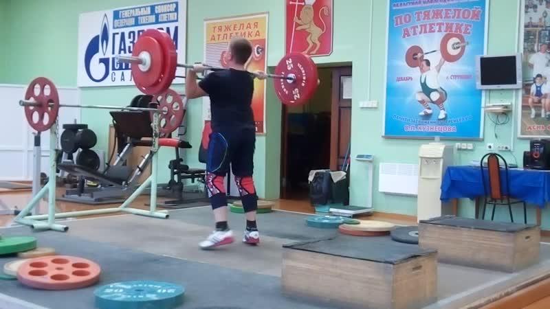 Даниил Наумов-05 гр-штурмуем рекордный вес-71 кг.