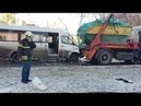 В Москве в ДТП с автобусом и грузовиком пострадали десять человек