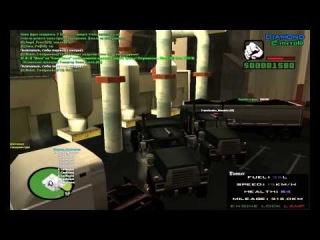 GTA SAMP Приключения бомжа #6 Дальнобощики