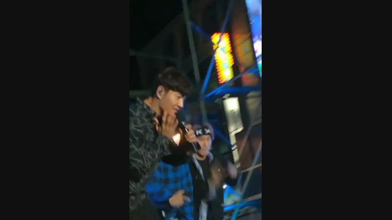 Ким Джон Кук - Lovable. Концерт Romantic Party в Пхохане.(13.10.2018)