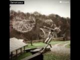 Робин Уайт делает красивые железные скульптуры, которые вращаются от ветра