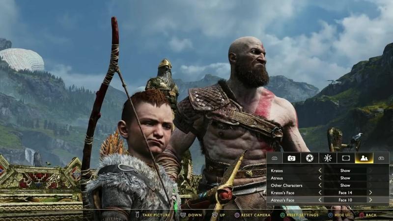 God Of War Photo Mode First Look (PS4)