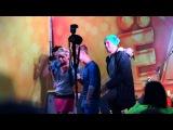 Анна Хилькевич и Антон Богданов перед съемками эпизода фильма Ёлки 3 в Перми 01.08.2013