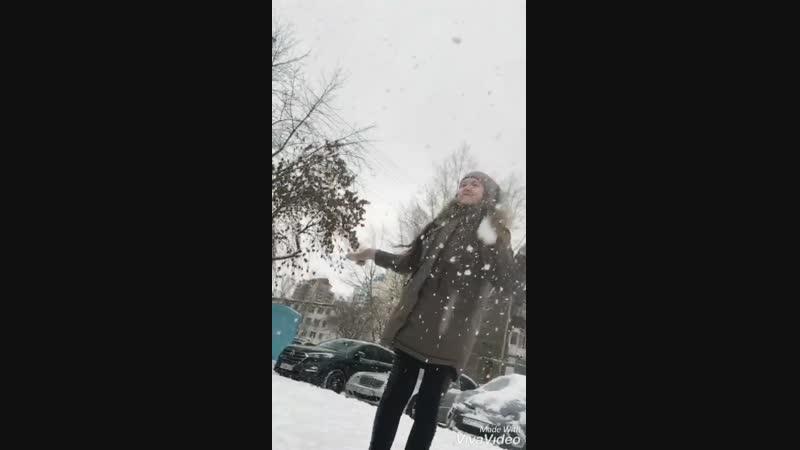 Снег♡