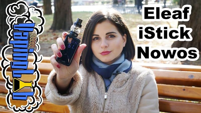Eleaf iStick NOWOS with ELLO Duro Инновационный сенсорный экран и Quick Charge 3 0