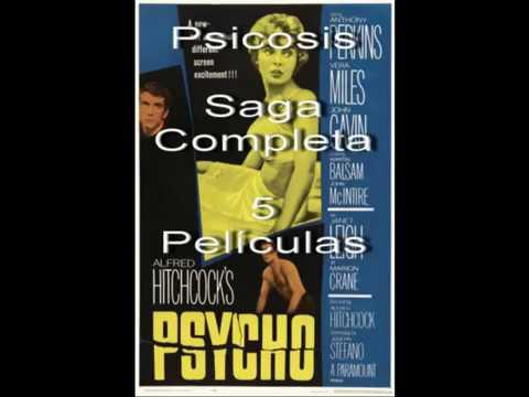 Descargar Psicosis La Saga (1960-1998) 1080p Dual Latino