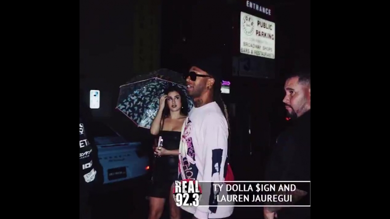 Lauren and Ty Dolla $ign at the Cardy B Party.mp4
