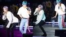 190323 Jimin empuja a Tae con su pompis, Jin enloquece BTS Love Yourself Tour en Hong kong Día 3