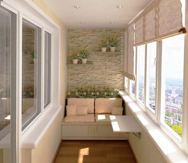 20 крутых идей для вашего балкона. Летом самое то! ↪