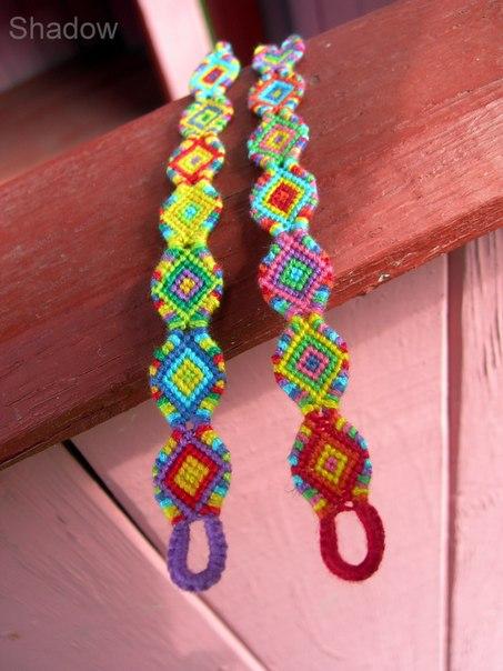 Плетение фенечек конфеток