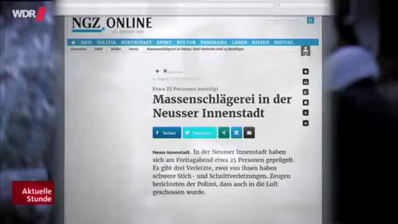 Immer mehr Messerstechereien in NRW
