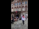 Victoria Spotted Filming in Prague (180718)