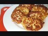 Куриные рубленные котлеты, цыганка готовит. Gipsy cuisine.